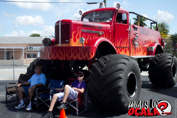 world s largest monster fire truck what 39 s up ocala news marion county 39 s source for events. Black Bedroom Furniture Sets. Home Design Ideas