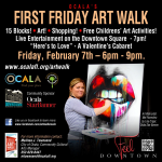 Information about Ocala's February Art Walk