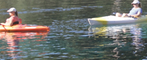 Kayakers at Silver Springs State Park