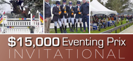 $15,000 EVENTING PRIX INVITATIONAL BY SOUTHERN CROSS EQUESTRIAN